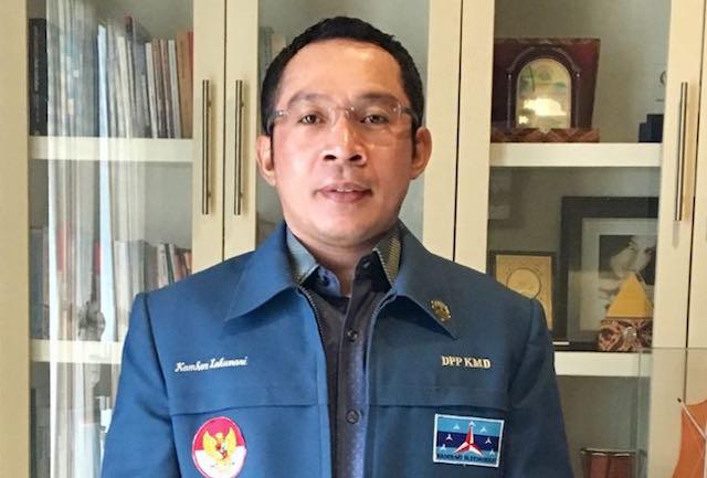 Soal Twit Mahfud, Bang Kamhar: Mungkin Efek Kebanyakan Menonton Ikatan Cinta - JPNN.com