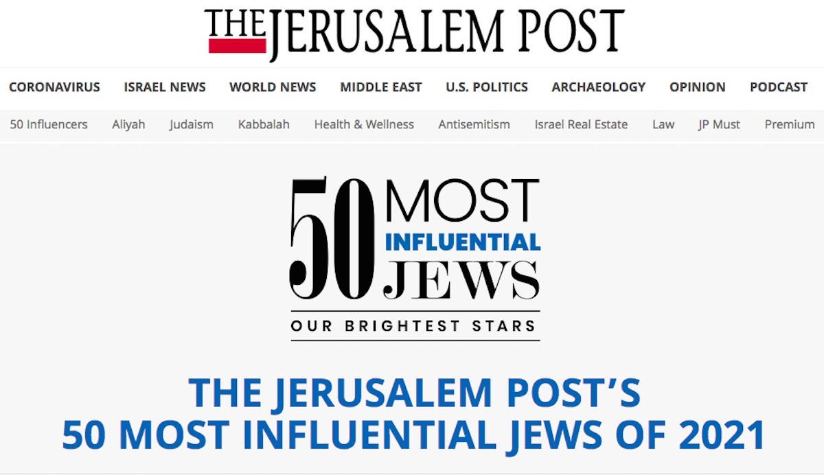 Daftar 50 Tokoh Yahudi Paling Berpengaruh di 2021, Ada Bos WhatsApp