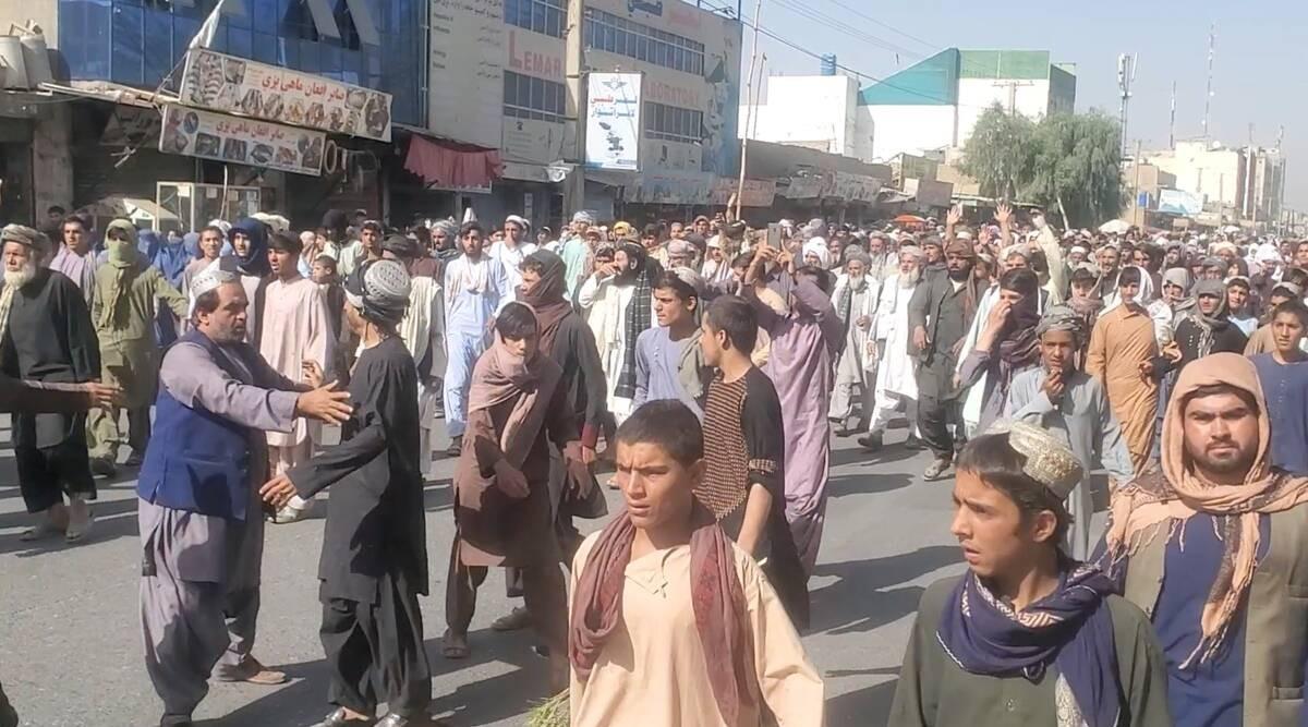 Taliban yang Sangar pun Didemo Gegara Penggusuran, Lihat Aksi Warga Afghanistan