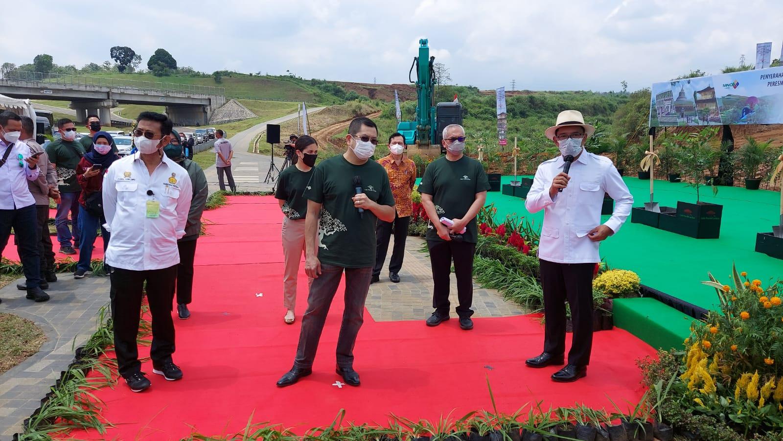 Kementan Bakal Hiasi Lido World Garden dengan Tanaman Hasil Inovasi