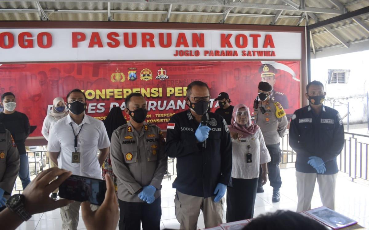 Polda Jatim Temukan Bahan Bom Berdaya Ledak Tinggi di Lokasi Ledakan Pasuruan