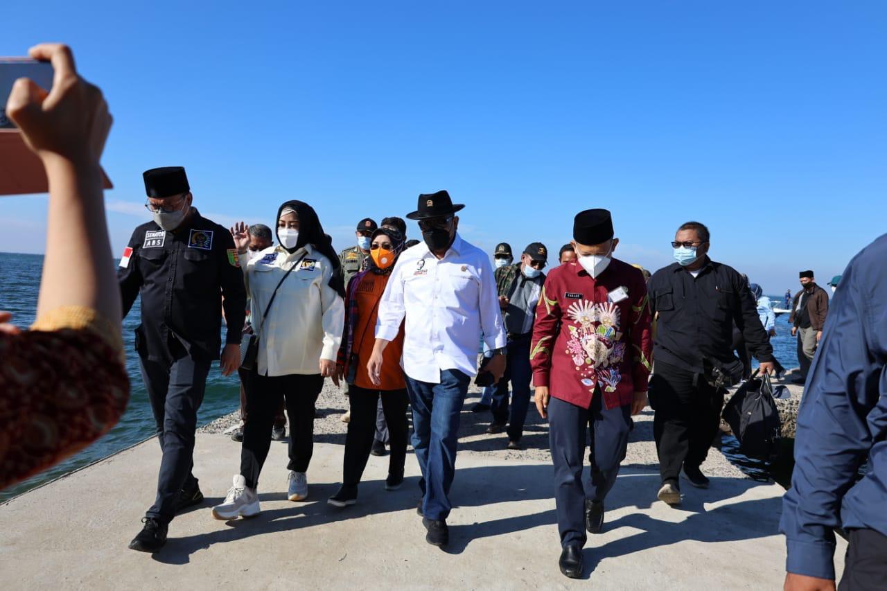 LaNyalla Pimpin Rombongan DPD Kunjungi Pulau Untung Jawa