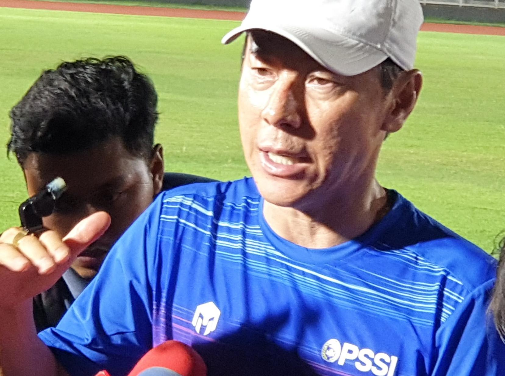 Shin Tae Yong tak Puas dengan Kualitas Pemain di 3 TC Timnas U-18