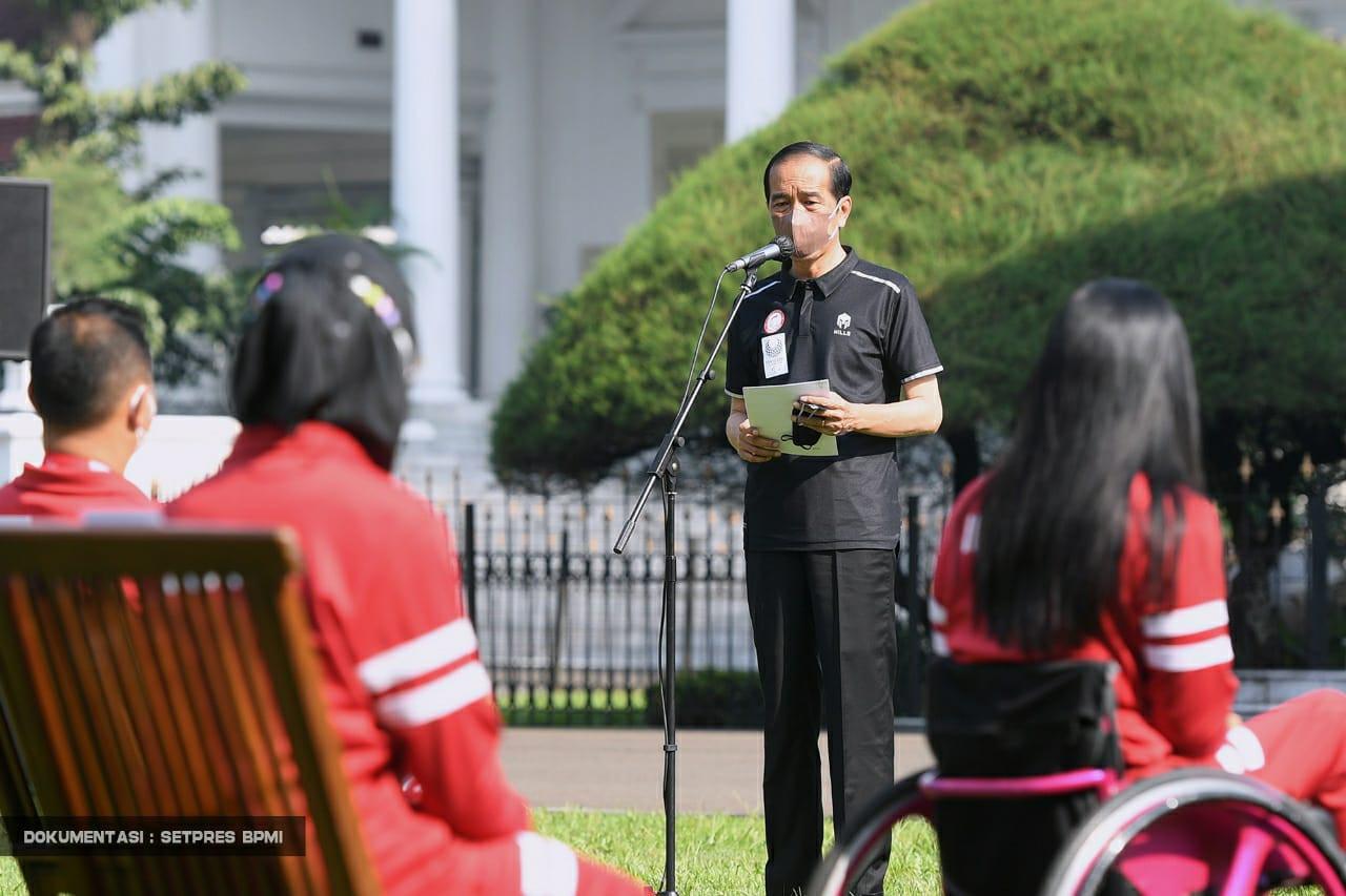 Jokowi Serahkan Bonus untuk Atlet Paralimpiade Tokyo 2020, Sebegini Jumlahnya
