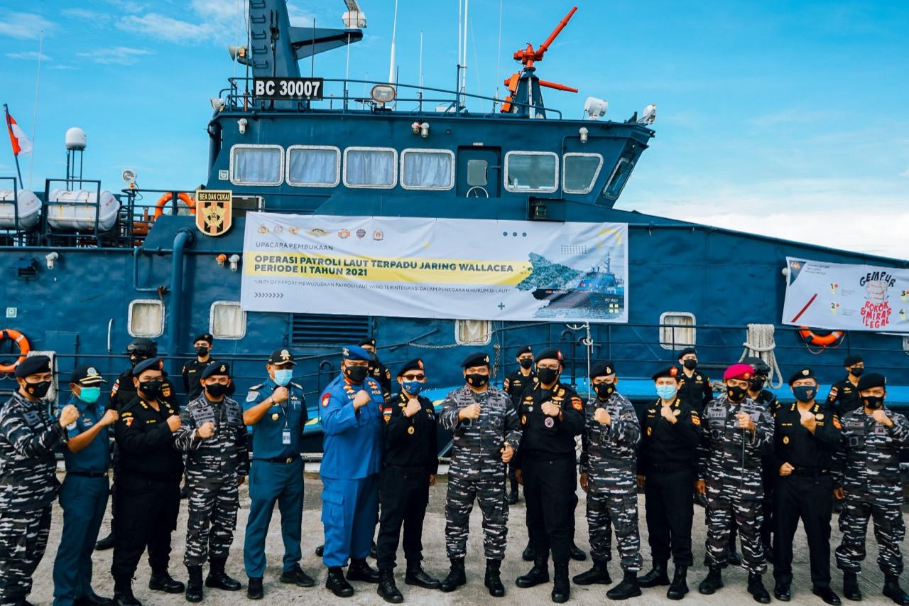 Bea Cukai Patroli Laut untuk Cegah Peredaran Barang Ilegal