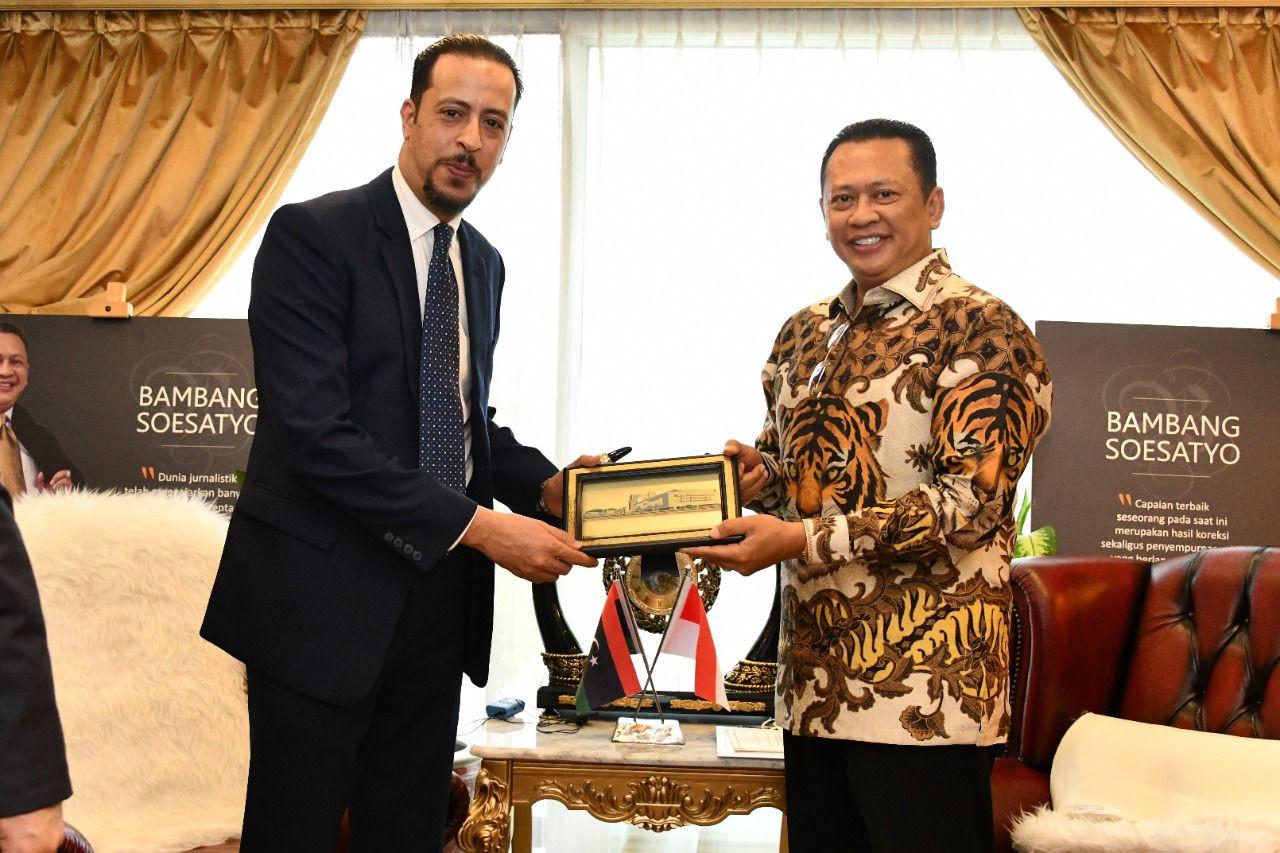 Bambang Soesatyo Dorong Peningkatan Kerja Sama Ekonomi Indonesia-Libya