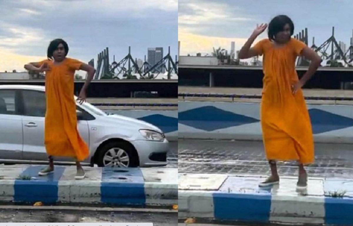 Terulang Lagi, Influencer Berjoget di Pinggir Jalan, Lihat Nih Gayanya