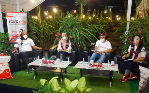 Hari Tani Nasional, Pupuk Indonesia Panen Buah Naga Hingga Gelar Talkshow Bareng Petani Muda