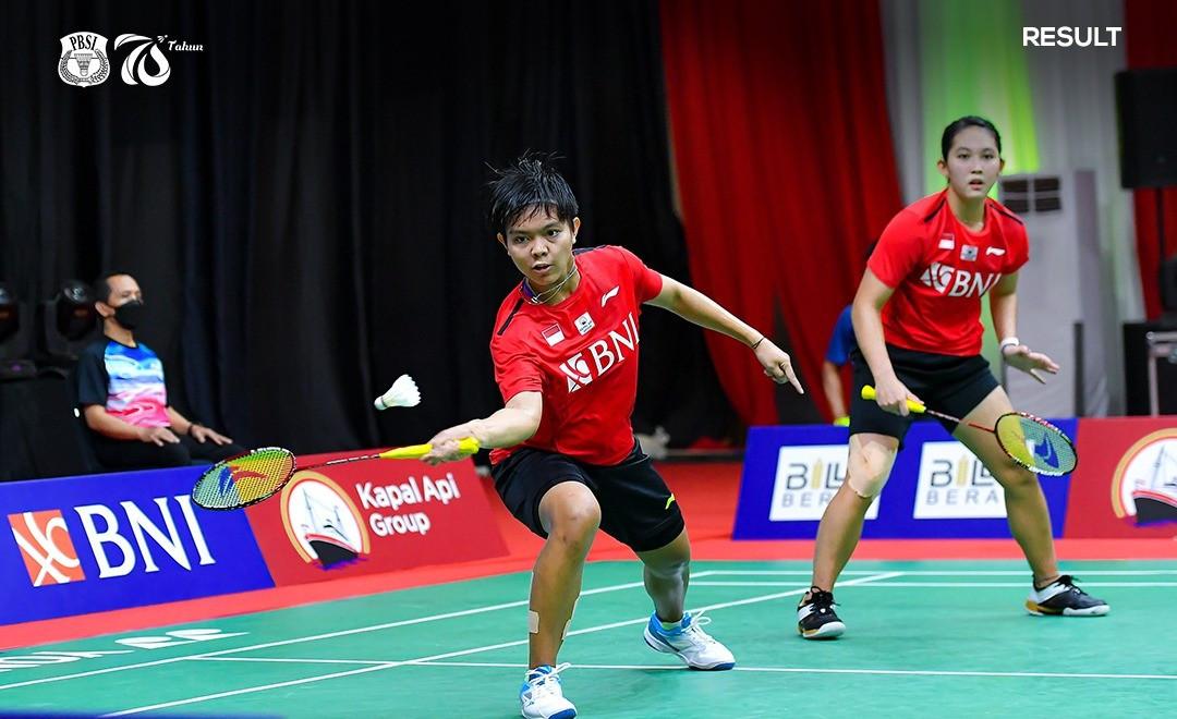 Jalani Debut di Piala Sudirman, Fadia/Ribka Tampil Mencuri Perhatian