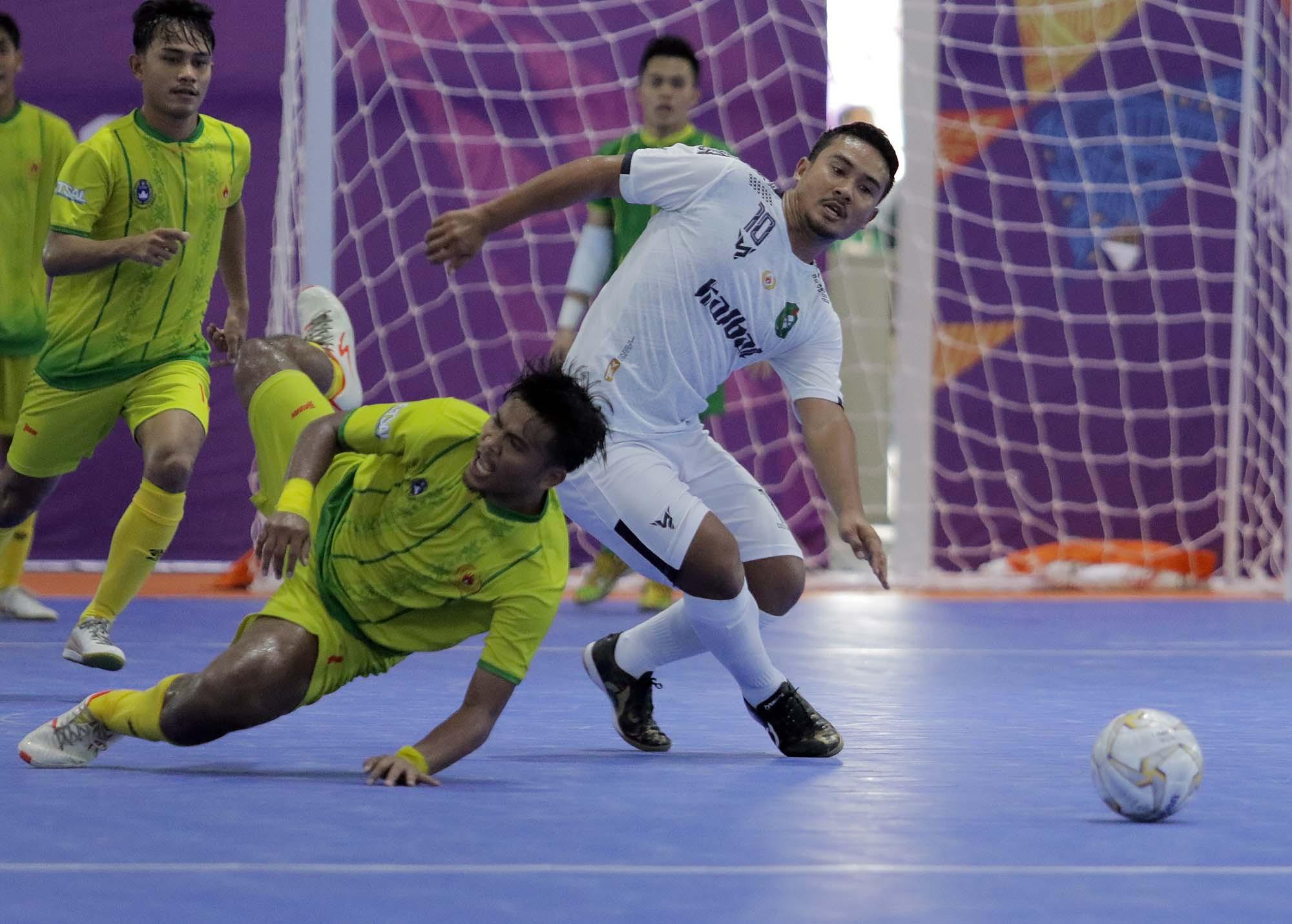 Futsal PON Papua: Syauqi Saud Lubis Gemilang, Sumut Hantam Kalbar