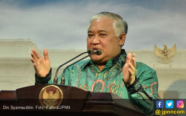 Presidium KAMI Din Syamsuddin Sebut Indonesia Kacau
