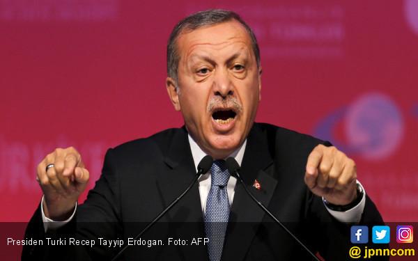 Gegara Cinta Ulama, Ratusan Warga Turki Ditangkap Rezim Erdogan - JPNN.com