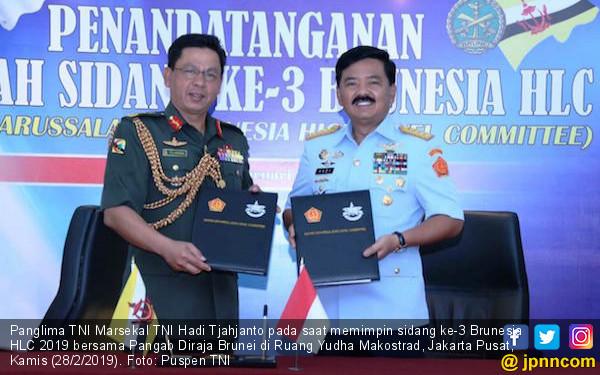 Brunesia HLC Dorong Kerja Sama Bidang Intelijen, Operasi dan Latihan - JPNN.com