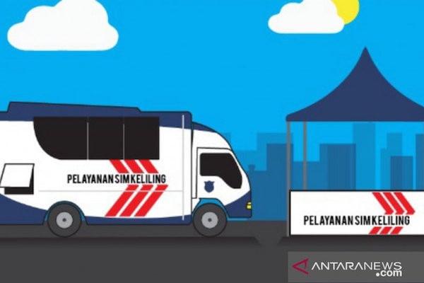Selamat Pagi Warga Jakarta, Hari Ini Polda Metro Siapkan Gerai SIM Keliling, Catat Lokasi & Waktunya - JPNN.com