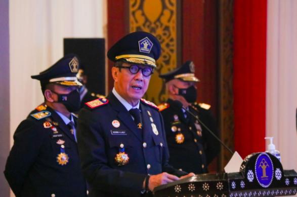 Kelakar Yasonna Tentang Peluang Bos Benny Demokrat Jadi Presiden - JPNN.com