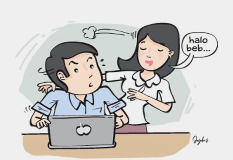 Cerita soal Pengantin Baru Tergoda Cewek di Kantor - JPNN.com