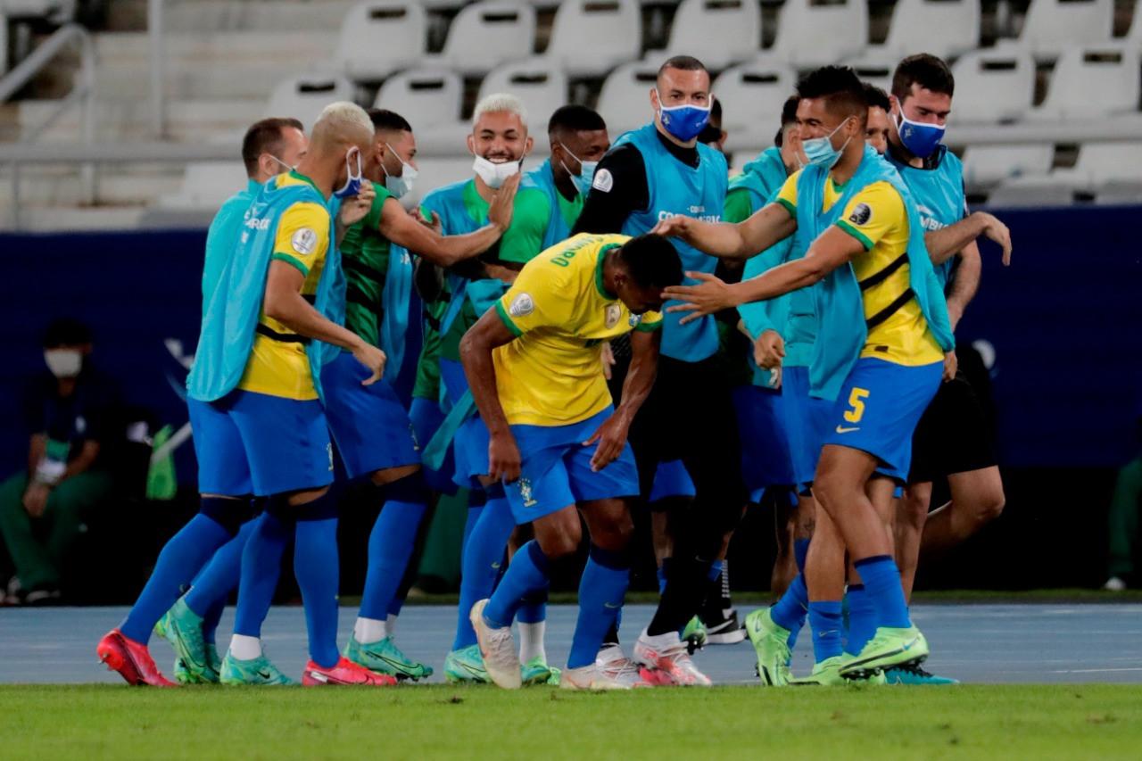 Lakukan Rotasi, Brasil Tetap Perkasa Atas Peru, Update Copa America 2021 - JPNN.com