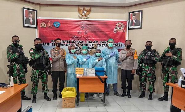 TNI dan Polri Bersinergi Menjaga Stabilitas Keamanan di Papua