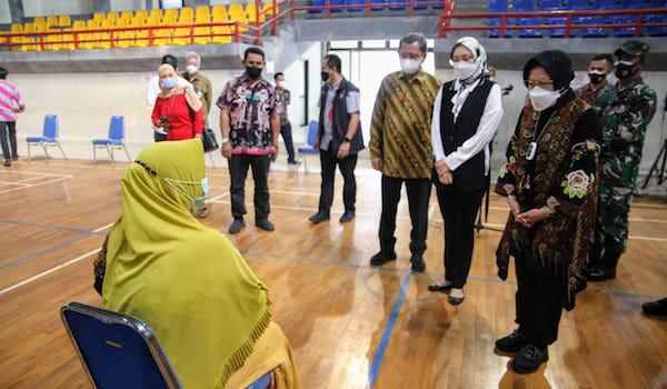 Berkunjung ke Purwakarta, Mensos Risma Pastikan Bansos Telah Disalurkan - JPNN.com