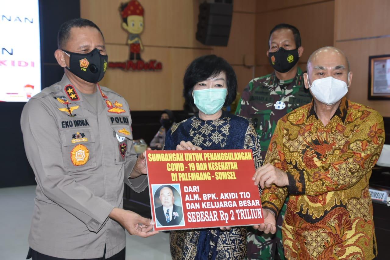 Pengusaha Aceh Sumbangkan Rp 2 Triliun untuk Penanganan Covid-19, Bang Saleh Merespons Begini - JPNN.com