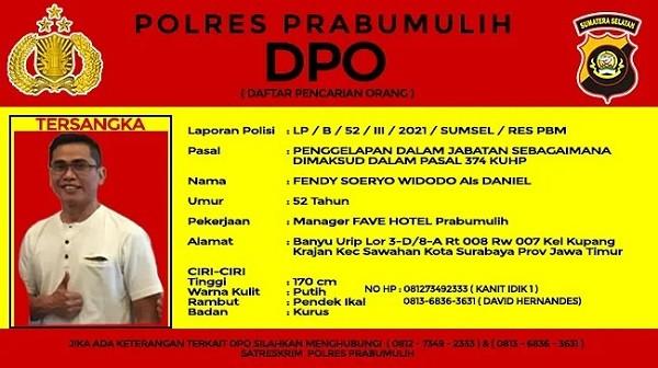 Fendy Soeryo Widodo Ditetapkan sebagai DPO, Bagi yang Melihat Tolong Lapor ke Sini - JPNN.com