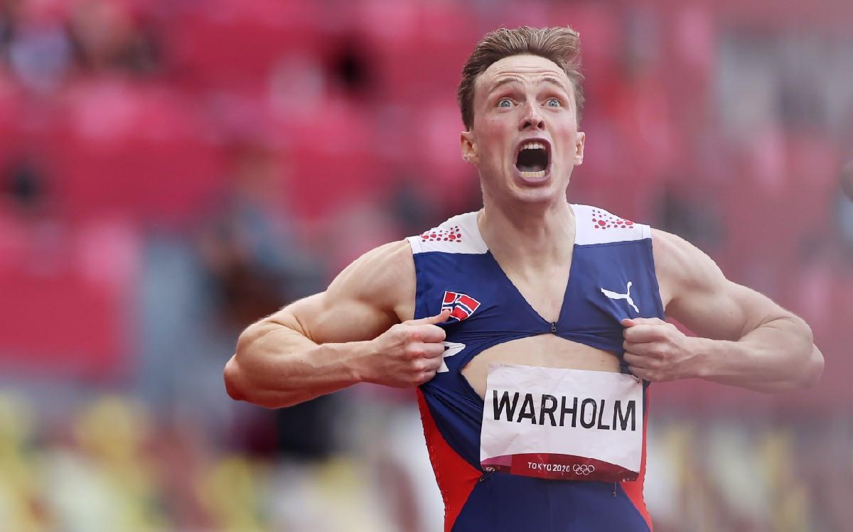 Raih Medali Emas Olimpiade Tokyo, Pelari Norwegia Ini Pecahkan Rekor Dunia
