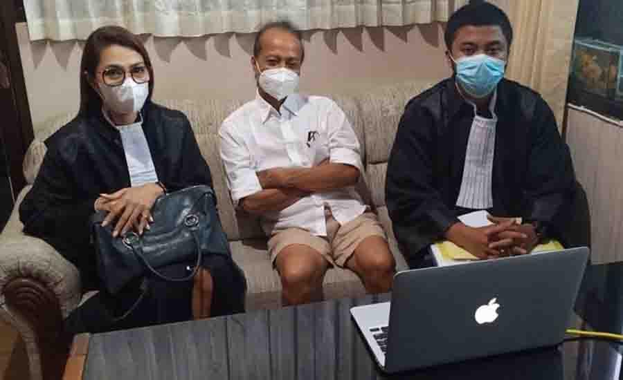 Zaenal Tayeb Sidang Pakai Celana Pendek, Peradi Bali: Kurang Sopan, Ini pertama di Bali - JPNN.com Bali