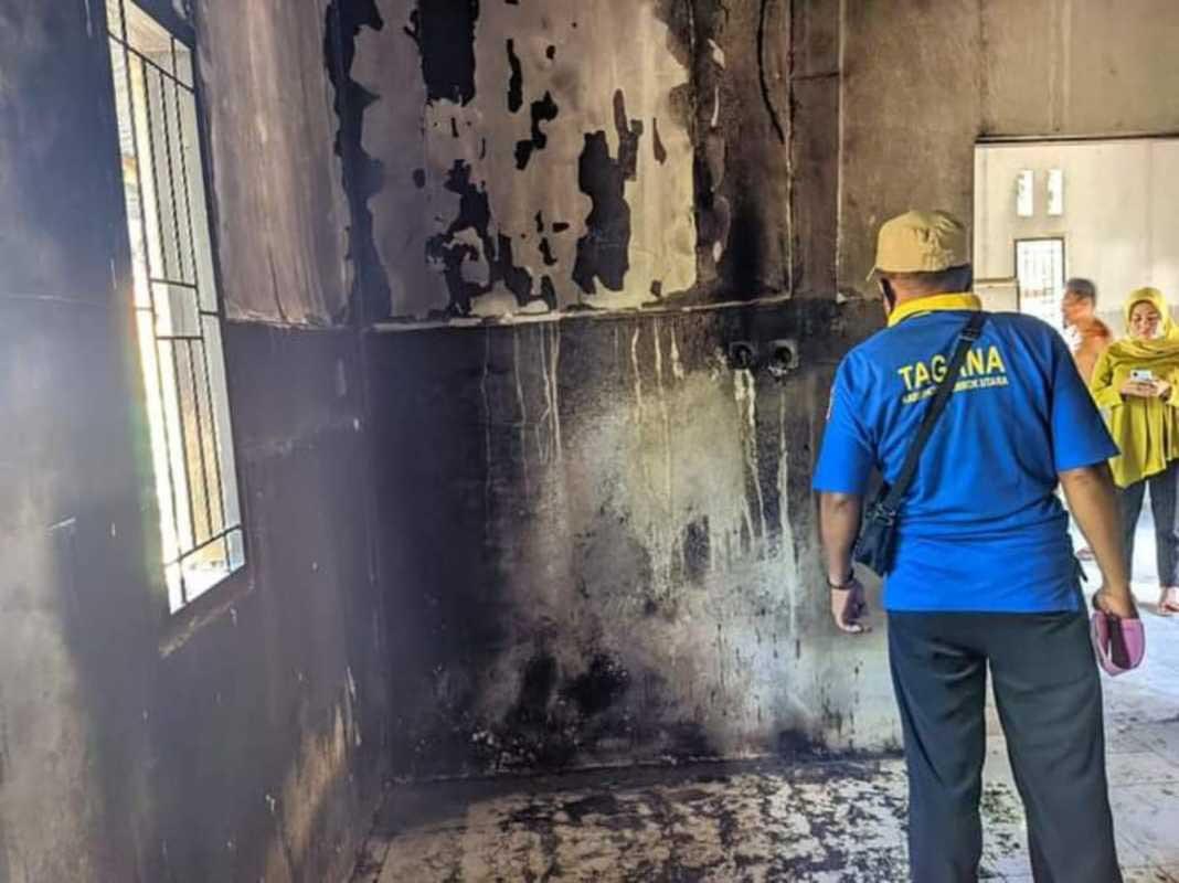 Rumah Tahan Gempa Warga Lombok Utara Terbakar, Polisi Duga Karena Ini - JPNN.com Bali