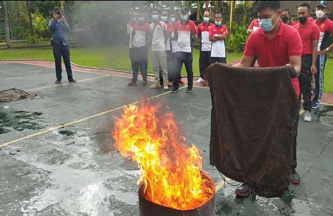 Duh, Rutan Negara Tak Memiliki Alat Pemadam Kebakaran yang Memadai - JPNN.com Bali