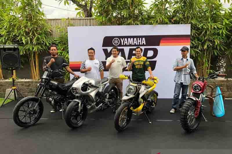Builder Bali Sukses Modifikasi Motor XSR 155, Lihat Tampilannya, Keren - JPNN.com Bali
