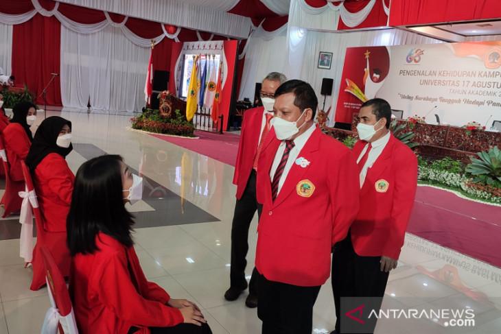 Untag Surabaya Mulai Kuliah Luring pada Akhir September 2021 - JPNN.com Jatim