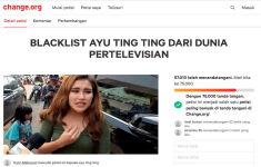 Puluhan Ribu Warganet Teken Petisi Daring Boikot Ayu Ting Ting, Siapa Mau Ikut? - JPNN.com